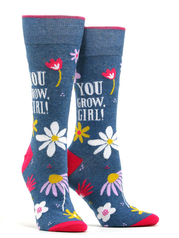 Women's You Grow Girl! Socks