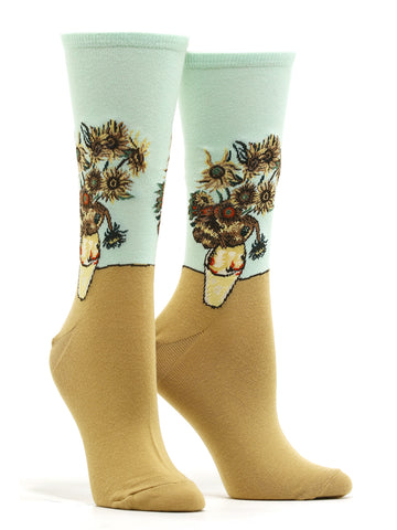 Women's Van Gogh - Sunflower Socks
