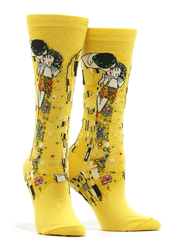 Women's Klimt - The Kiss Socks