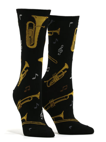 Women's Brass Socks