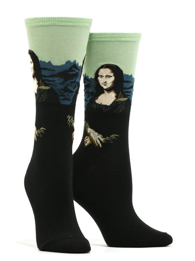 Women's Da Vinci - Mona Lisa Socks