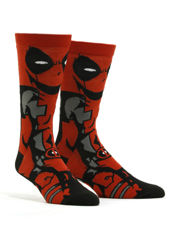 Men's Deadpool 360 Socks