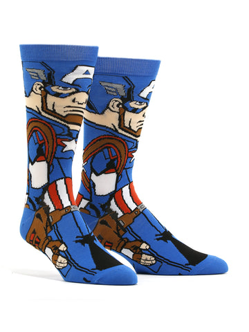 Men's Captain America 360 Socks
