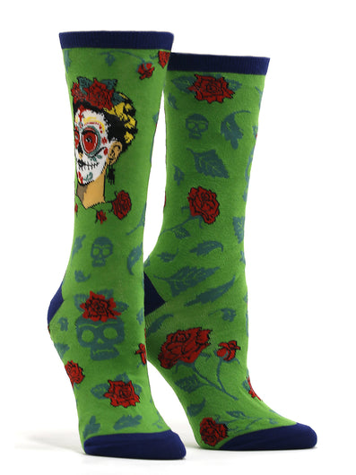 Women's Dia De Los Frida Socks