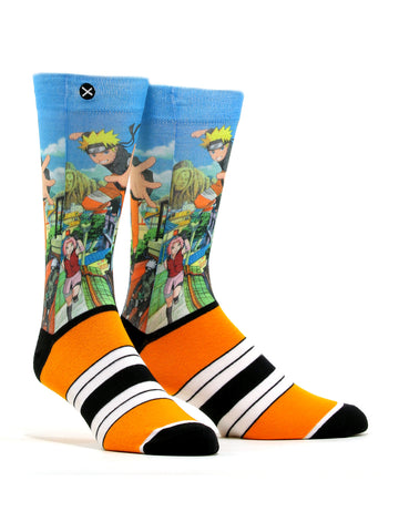 Men's Naruto Stirke Socks