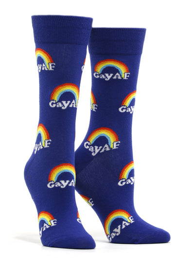 Women's Gay AF Socks
