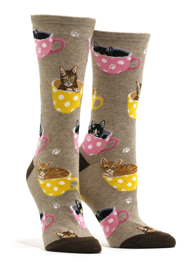 Women's Cat-Feinated Socks