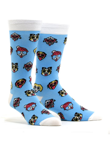 Men's Dogs With Sunglasses Socks