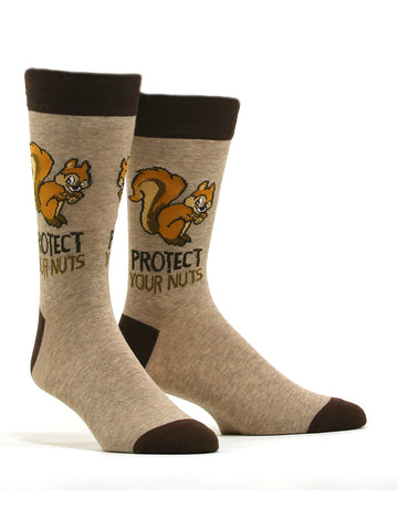 Men's Protect Your Nuts Socks