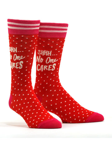 Women's Shhh... No One Cares Socks
