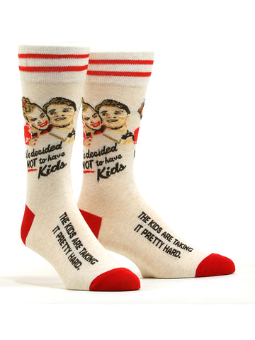 Women's We Decided Not To Have Kids Socks
