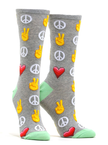 Women's Peace and Love Socks