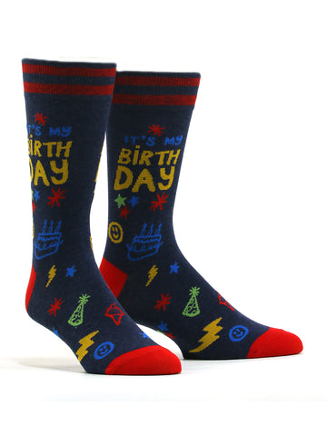 Men's It's My Birthday Socks