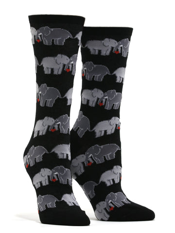 Women's Elephant Love Socks