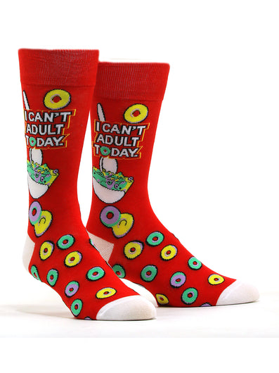Men's I Can't Adult Today Socks