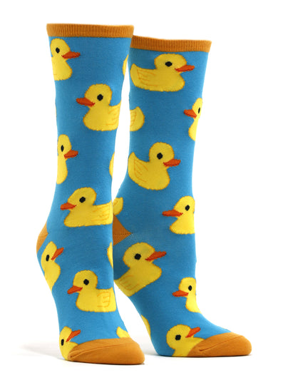 Women's Rubber Ducky Socks