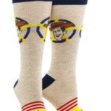 Men's Toy Story - Woody & Bullseye 2 Pack Socks