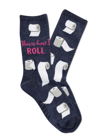 Women's How I Roll Socks