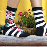 Women's Romantic Roses Socks