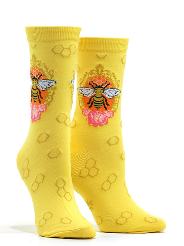 Women's Queen Bee Socks