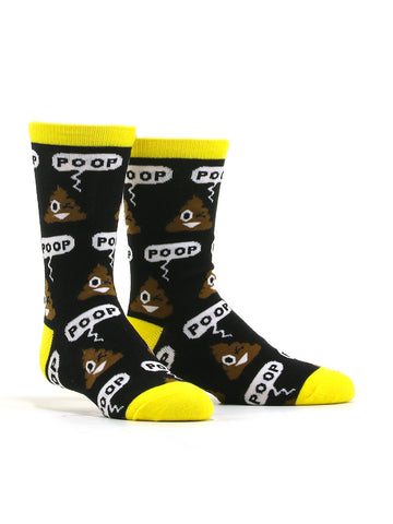 Kid's Poop Emoji Socks