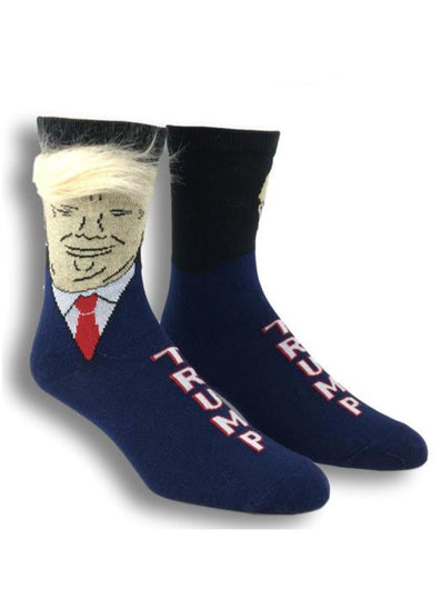 Men's Trump with Hair Socks