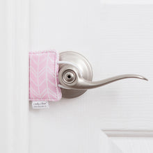 The Original Cushy Closer Door Cushion- Birch Pink | Door Latch Cover | Baby Safety & Quiet Doors