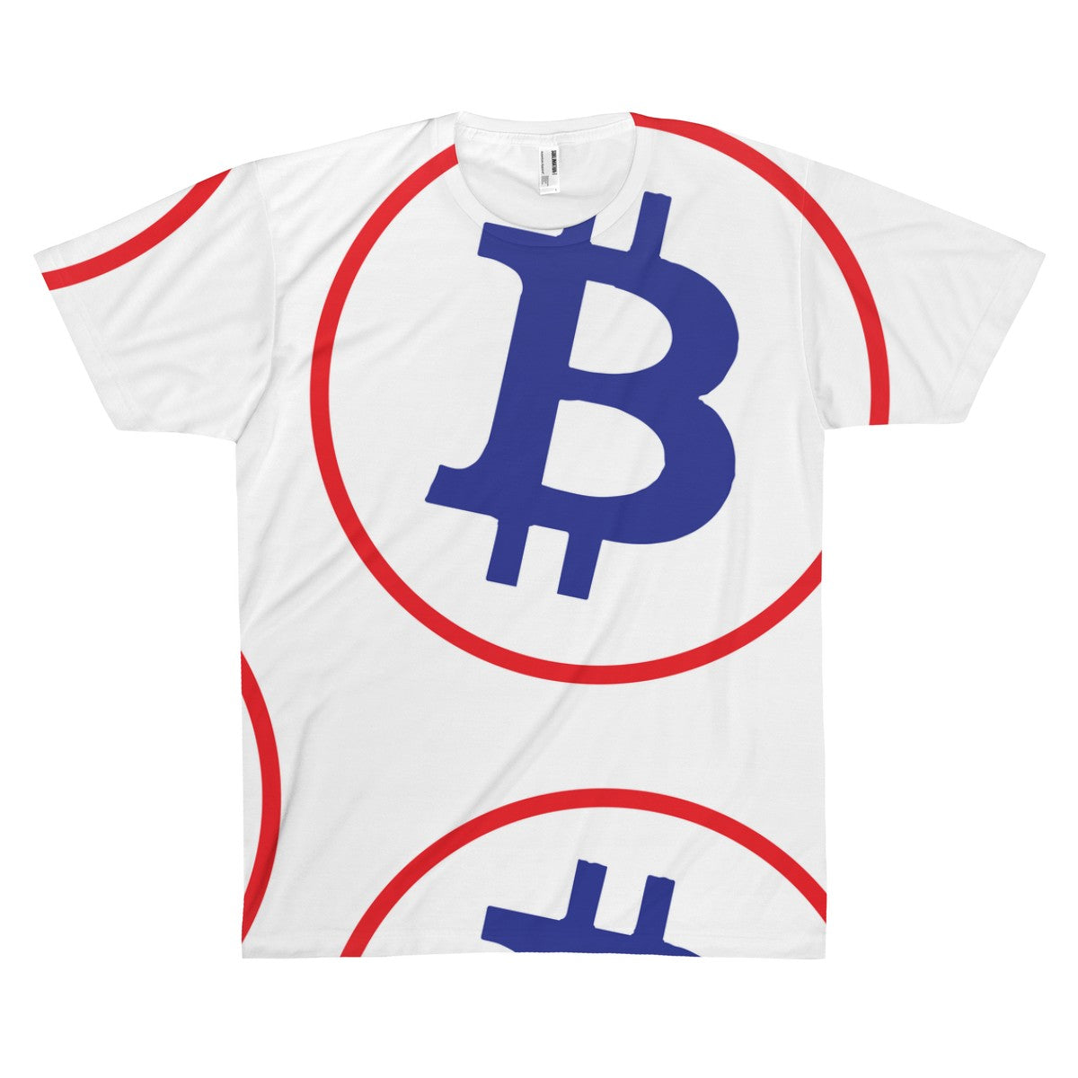 The 'BTC Bold' Sublimated Tee in White