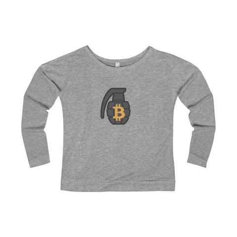 The 'BTC Grenade' Wide Neck Sweatshirt