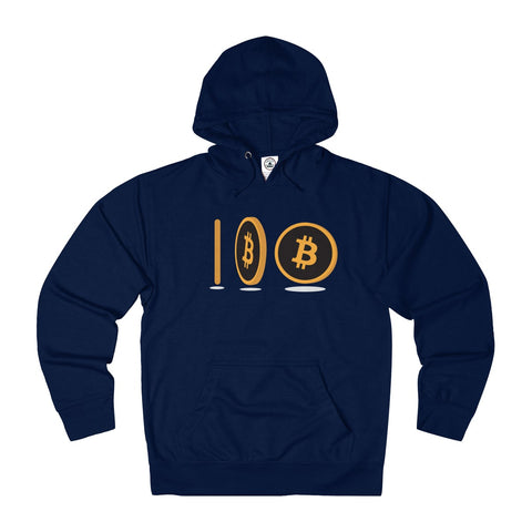 The 'Spinning Coin' Hoodie in Navy
