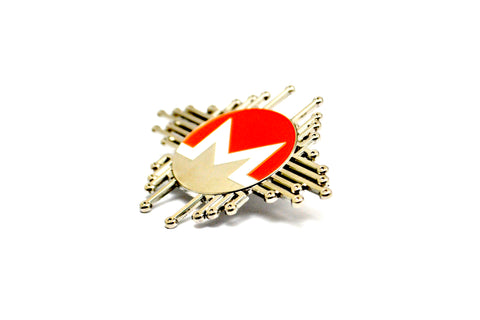 The Monero Nodes Lapel Pin