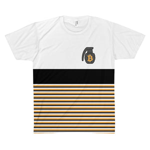 The 'BTC Stripe' Sublimated Tee