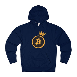 The 'Bitcoin King' Hoodie in Navy