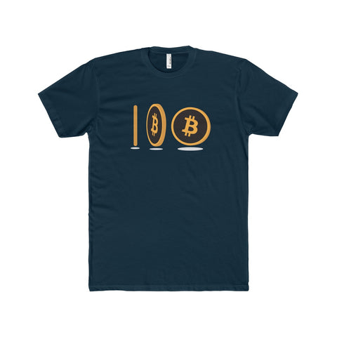 The 'Spinning Coin' Perfect Tee in Navy