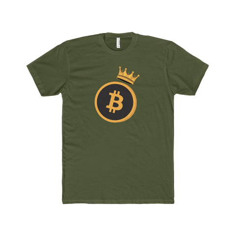 The 'Bitcoin King' Perfect Tee in Olive