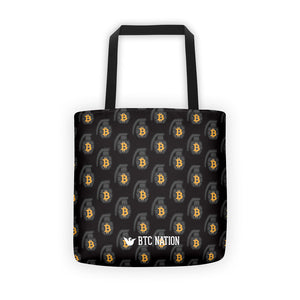 The Black BTC Grenade Tote Bag