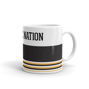 The BTC Stripe Mug