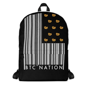 The 'BTC Nation Flag' Backpack