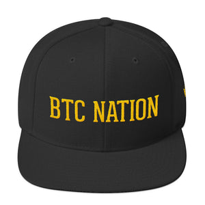 The BTC Nation Snapback in Black