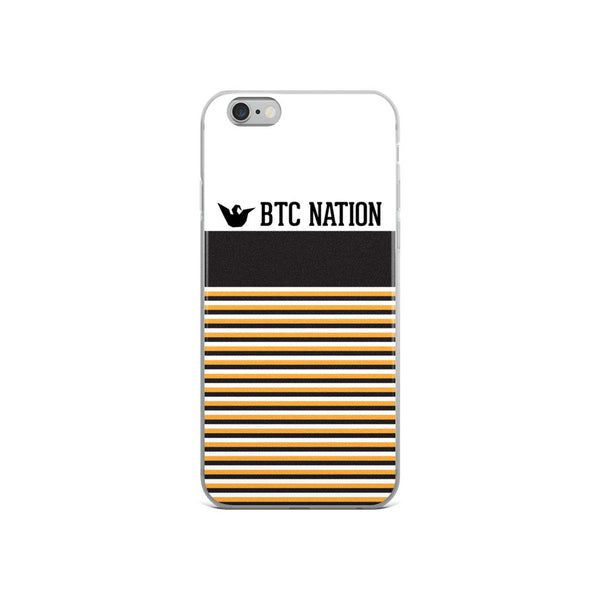 The BTC Stripe iPhone 5/6/6 Plus Case