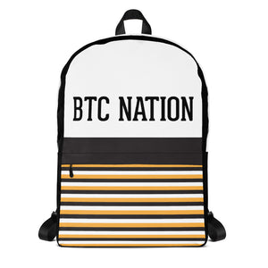 The' BTC Stripe' Backpack