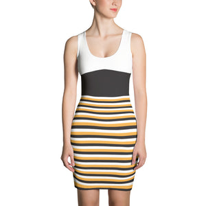The BTC Stripe Sublimated Dress