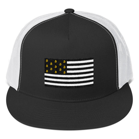 The BTC Nation Flag Trucker Hat