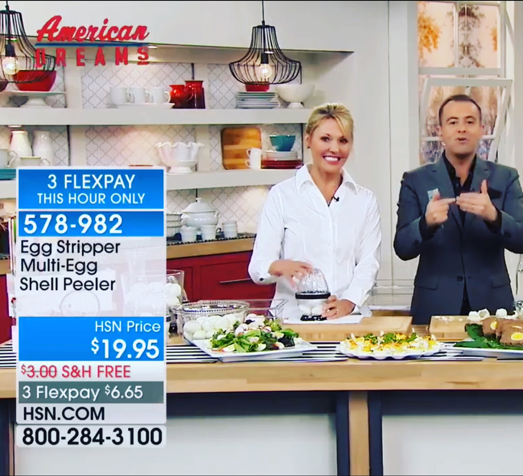 Let the American Dream continue – We are back on Live TV Home Shopping Network (HSN), two days in a row! Tune in February 18th at 1am CT (2AM ET) and February 19th at 6pm CT (7PM ET)
