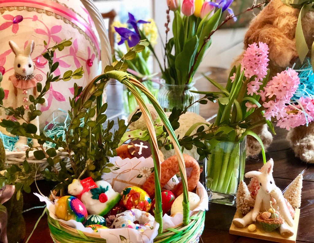 Traditional Polish Easter Basket