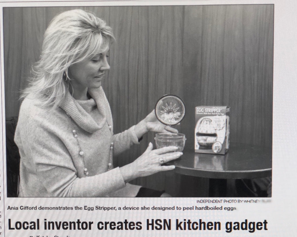 LOCAL INVENTOR CREATES HSN KITCHEN GADGET