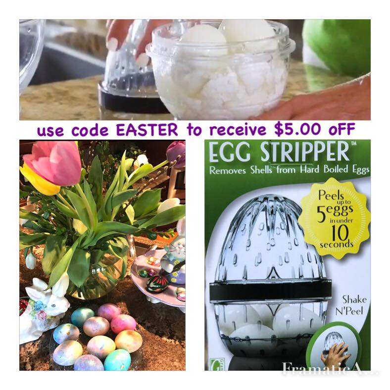 Use code EASTER to receive $5.00 off