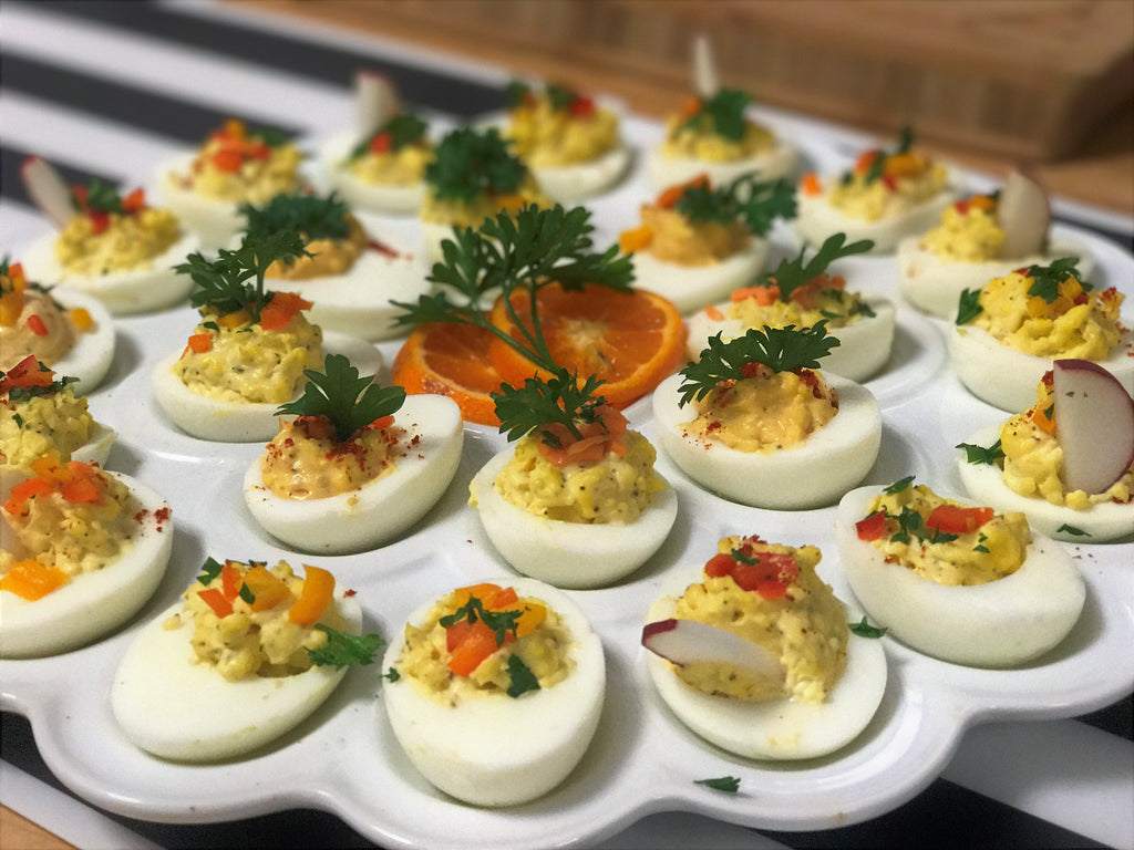 Randy's Yummy Deviled Eggs