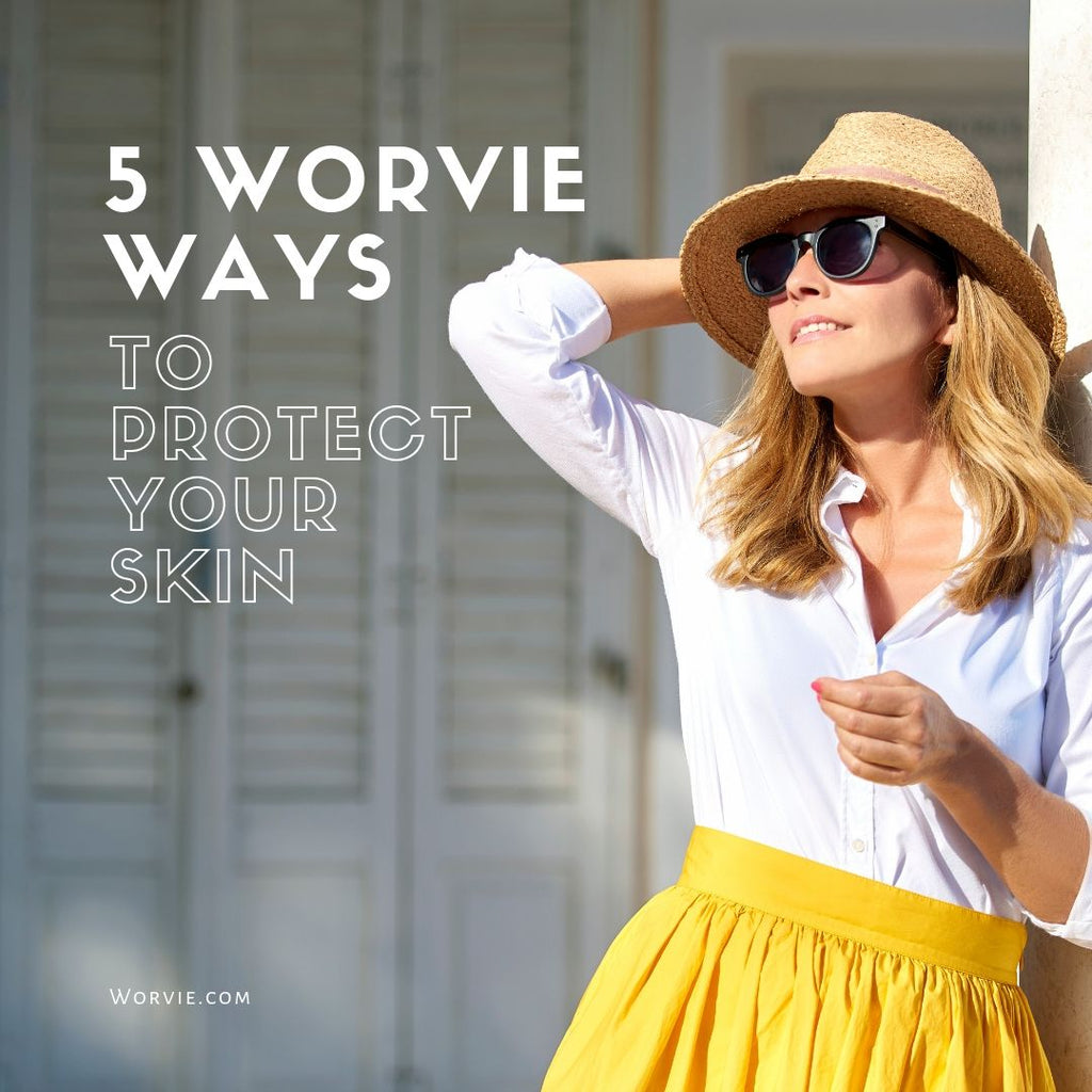 5 Worvie ways to protect your skin from UV rays damage