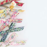 Liberty Love Bow Headband - Hot Pink Floral